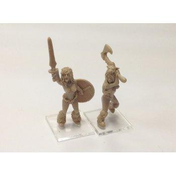 Barbarian girls